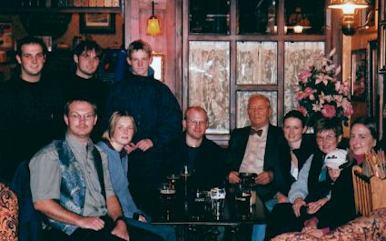 My 85th birthday party in November 2000